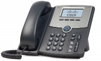 Cisco Cisco Small Business Spa 502g - Voip Phone - Sip, Sip V2, Spcp - Single-line - Silver, Dark Grey - For Small Business Pro Unified Communications 320 With 4 Fxo Spa502g - xep01