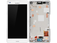 MicroSpareparts Mobile Sony Xperia Z3 Compact LCD Screen and Digitizer with MSPP72276 - eet01