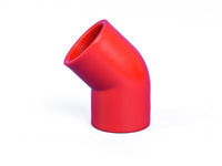 Bisson 45 DEGREE BEND RED  ABS002 - eet01