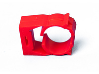 Bisson PIPE CLIPS RED  ABS004 - eet01