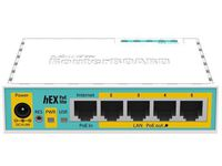 MikroTik RouterBOARD hEX PoE lite with 650MHz CPU, 64MB RAM, 5xLAN RB750UPR2 - eet01