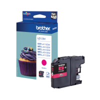 brother Magenta Ink Cartridge LC123M - MW01