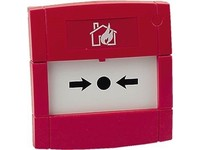 KAC Indoor manual call  point Red colour M3A-R000SF-STCK-01 - eet01
