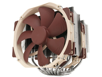 Noctua Dual Radiator Quiet CPU Cooler with two NH-A15 Fans NH-D15 - eet01