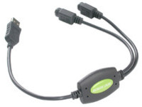 IOGEAR USB to PS/2 Converter for PC  GUC10KM - eet01