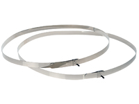 Axis STAINLESS STEEL STRAPS 1450MM 1 pair 5800-811 - eet01