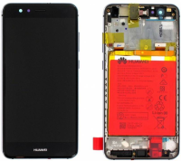 Huawei Front Housing With battery Warsaw-L21A,F,Black, 02351ESD - eet01