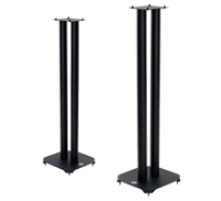 B-Tech Loudspeaker Floor Stands ATLAS, (Pair), 80 cm Black. BT608/B - eet01