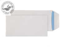 23788 Blake Purely Everyday White Self Seal Pocket 220X110mm 90Gm2 Pack 1000 Code 23788 3P- 23788