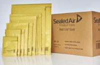 103027405 Sealed Air Mail Lite Mailers F/3 Gold Int 220mm x 330mm Box 50- 103027405