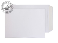 11891PS Blake Purely Everyday White Peel & Seal Pocket 324X229mm 100Gm2 Pack 250 Code 11891Ps 3P- 11891PS