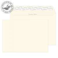 352 Blake Creative Colour Soft Ivory Peel & Seal Wallet 162X229mm 120Gm2 Pack 500 Code 352 3P- 352
