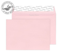 63401 Blake Creative Colour Baby Pink Peel & Seal Wallet 229X324mm 120Gm2 Pack 10 Code 63401 3P- 63401