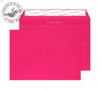 63442 Blake Creative Colour Shocking Pink Peel & Seal Wallet 229X324mm 120Gm2 Pack 10 Code 63442 3P- 63442