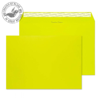 63441 Blake Creative Colour Acid Green Peel & Seal Wallet 229X324mm 120Gm2 Pack 10 Code 63441 3P- 63441