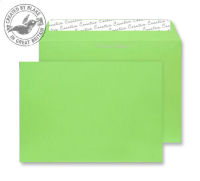 63407 Blake Creative Colour Lime Green Peel & Seal Wallet 229X324mm 120Gm2 Pack 10 Code 63407 3P- 63407