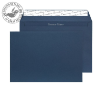 63420 Blake Creative Colour Oxford Blue Peel & Seal Wallet 229X324mm 120Gm2 Pack 10 Code 63420 3P- 63420