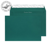 63421 Blake Creative Colour British Racing Green Peel & Seal Wallet 229X324mm 120Gm2 Pack 10 Code 63421 3P- 63421