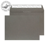 63424 Blake Creative Colour Graphite Grey Peel & Seal Wallet 229X324mm 120Gm2 Pack 10 Code 63424 3P- 63424