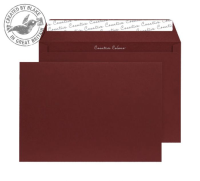 63422 Blake Creative Colour Bordeaux Peel & Seal Wallet 229X324mm 120Gm2 Pack 10 Code 63422 3P- 63422