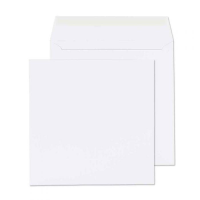 0165PS Blake Purely Everyday White Peel & Seal Square Wallet 165X165mm 100Gm2 Pack 500 Code 0165Ps 3P- 0165PS