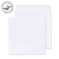 2240PS Blake Purely Everyday Ultra White Wove Peel & Seal Square Wallet 240X240mm 120G Pk250 Code 2240Ps 3P- 2240PS