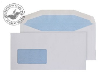 3504 Blake Purely Everyday White Window Gummed Mailer 114X229mm 80Gm2 Pack 1000 Code 3504 3P- 3504