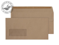 11884 Blake Purely Everyday Manilla Window Self Seal Wallet 110X220mm 80Gm2 Pack 1000 Code 11884 3P- 11884