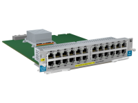 Hewlett Packard Enterprise Hpe - Expansion Module - 10/100 Ethernet X 24 - For Hpe 8206  8212; Hpe Aruba 5406  5412 J9547a - xep01