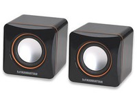 Manhattan 2600 Series Speaker System Black 161435 - eet01