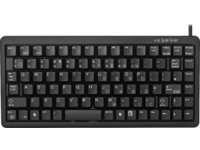 Cherry Keyboard (UK), Black USB (PS/2 over adapter) G84-4100LCMGB-2 - eet01