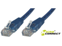MicroConnect U/UTP CAT6 15M Blue PVC Unshielded Network Cable, B-UTP615B - eet01