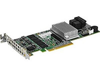 Supermicro 8 internal ports, low-profile 12Gb/s AOC-S3108L-H8IR-16DD - eet01