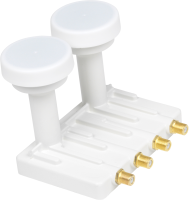 Maximum Monoblock Quad PQ-24, 0.1 dB Gold Connectors MAXI5624PQ - eet01