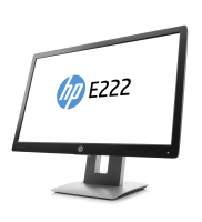 "Hp E222 21.5"" Led Ips 16:9 Monitor Black/silver - (1920x1080)/ha/ti/sw/pi/vga/dp/hdmi/hdcp/vesa M1n96at - xep01"