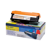 brother Yellow Toner Cartridge (Yield: 1500 pages) TN320Y - MW01