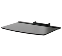 B-Tech Large AV Accessory Shelf-Glass For BT8505/BT8010 - 450x320mm BT7165/B - eet01