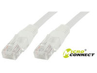 MicroConnect U/UTP CAT6A 2M White  LSZH Unshielded Network Cable, UTP6A02W - eet01