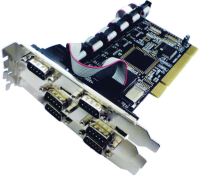 ST Labs PCI 6S Serial Card  I-450 - eet01