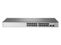 Hewlett Packard Enterprise Hpe Officeconnect 1850 24g 2xgt - Switch - Managed - 24 X 10/100/1000 + 2 X 10base-t - Desktop  Rack-mountable  Wall-mountable Jl170a - xep01
