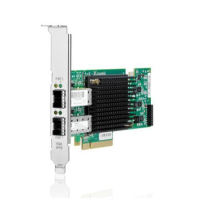 Hewlett Packard Enterprise Hpe Nc552sfp - Network Adapter - Pcie 2.0 X8 - 10 Gige - 2 Ports - For Proliant Dl360p Gen8  Ml310e Gen8  Ml350e Gen8  Ml350p Gen8  Sl270s Gen8  Sl390s G7 614203-b21 - xep01