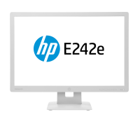 "Hp E242e 24"" Led Backlit Ips 16:10 Monitor Grey - (1920x1200)/ha/ti/sw/pi/vga/hdmi/dp/vesa N3c01aa - xep01"