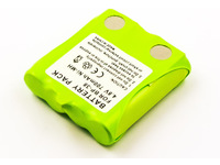 MicroBattery Battery for Two Way Radio 3.4Wh NiMH 4.8V 700mAh MBTW0008 - eet01