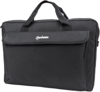"Manhattan London Laptop Bag 17,3"" Top Loader Black 439909 - eet01"
