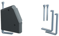 Bachmann DESK Mounting bracket for desk Thickness up to 80mm 930.180 - eet01