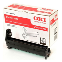 oki Black Image Drum 43381724 - MW01
