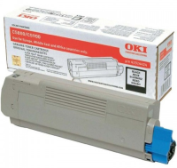 oki Black Toner Cartridge 43324424 - MW01
