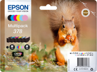 Epson Multipack 6-colours 378 Claria Photo HD Ink C13T37884010 - eet01