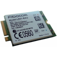 Lenovo Lenovo Thinkpad Fibocom Xmm7160 Cat4 M.2 Wwan - Wireless Cellular Modem - 4g Lte - M.2 Card - 150 Mbps - For Thinkpad T25; T470; T570; X270 4xc0m95179 - xep01