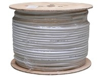 Maximum Coax cable N71 1.6/7.1/9.8mm Halogen free, white, 250m 32063 - eet01